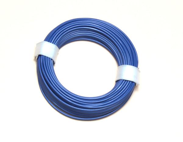 (0,11 €/m) 10 m Litze blau 0,14 mm² Kupferlitze Schaltlitze Kabel