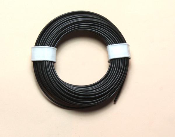 (0,11 €/m) 10 m Litze schwarz 0,14 mm² Kupferlitze Schaltlitze Kabel